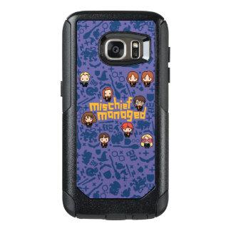 """Cartoon """"Mischief Managed"""" Graphic OtterBox Samsung Galaxy S7 Case"""
