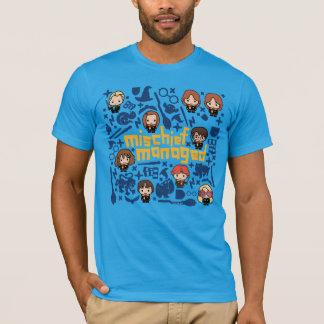 """Cartoon """"Mischief Managed"""" Graphic T-Shirt"""