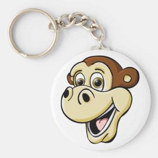Cartoon Monkey Keychain