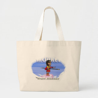 Cartoon monkey Rude Monkey collection by Mary 2012 Large Tote Bag