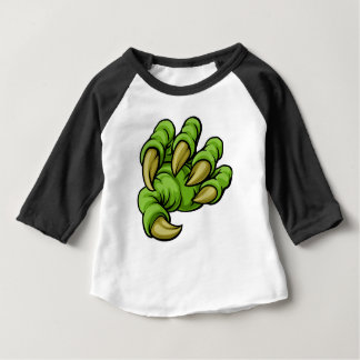 Cartoon Monster Claw Baby T-Shirt
