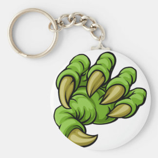 Cartoon Monster Claw Keychain