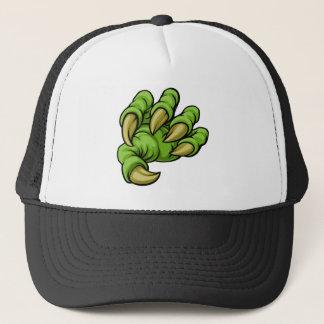 Cartoon Monster Claw Trucker Hat