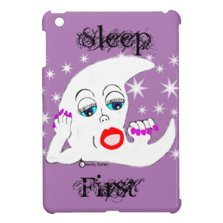 Cartoon Moon iPad Mini Case