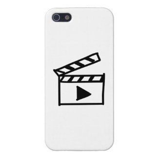 Cartoon Movie Clapperboard Cover For iPhone 5/5S