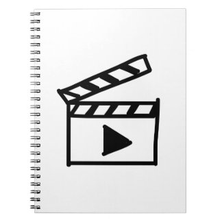 Cartoon Movie Clapperboard Notebooks