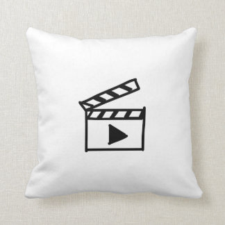 Cartoon Movie Clapperboard Pillows