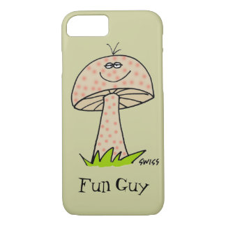 Cartoon Mushroom Fun Guy Fungi Funny Phone Case