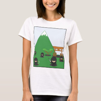 Cartoon Ninjas (in the countryside) T-Shirt
