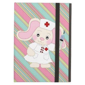Cartoon Nurse Bunny iPad Air Powis case Case For iPad Air