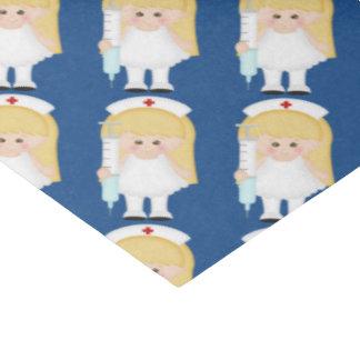 Cartoon Nurse fun tissue paper