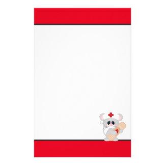 Cartoon Nurse Mouse fun stationary Stationery