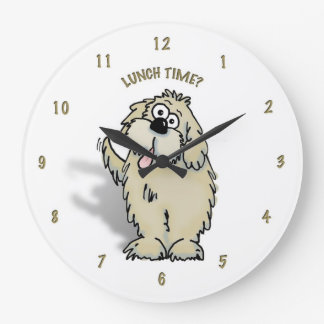 Get to know your doggy's routine byt the clock