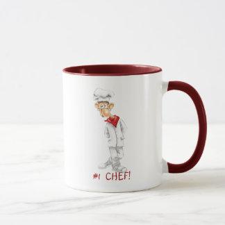 Cartoon of Chef with funny sayings Mug