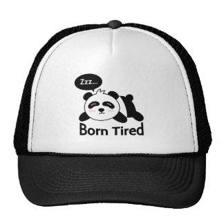 Cartoon of Cute Sleeping Panda Trucker Hat