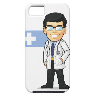 Cartoon of Doctor iPhone 5 Cases