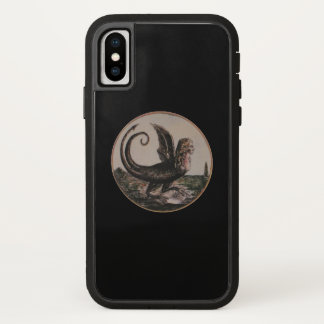 Cartoon of Marie Antoinette CHANGE COLOR (Options) iPhone X Case