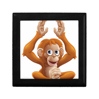 Cartoon OrangUtan Animal Character Jewelry Box