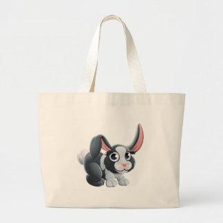 Cartoon OrangUtan Animal Character Large Tote Bag