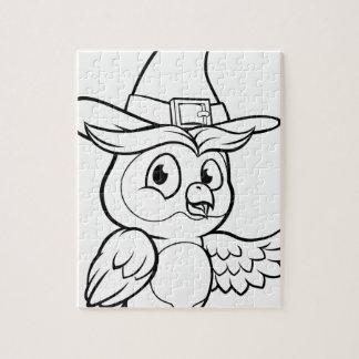 Cartoon Owl Character Jigsaw Puzzle