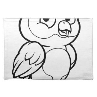 Cartoon Owl Character Placemat