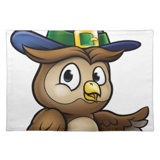 Cartoon Owl Character Placemat
