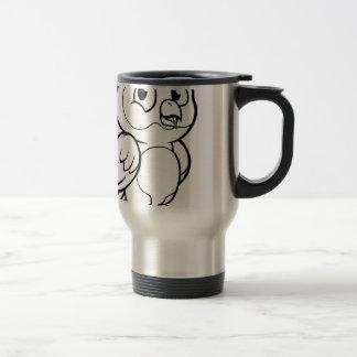 Cartoon Owl Character Travel Mug