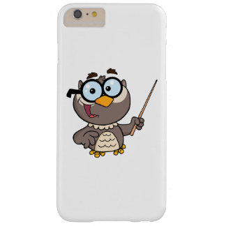 Cartoon Owl Teacher Barely There iPhone 6 Plus Case