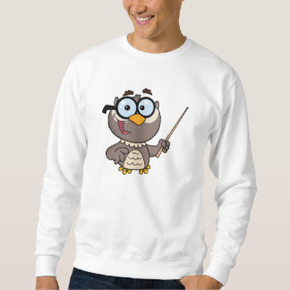 Cartoon Owl Teacher Sweatshirt