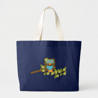 Cartoon Owl tote bag
