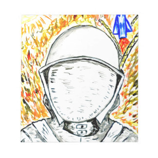 Cartoon Painted Astronaut2 Notepads