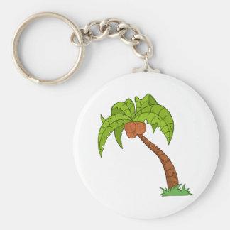 Cartoon Palm Tree Keychain