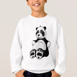Cartoon Panda Bear Stuffed Animal Sweatshirt