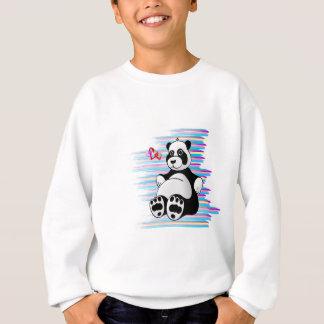Cartoon Panda Bear Stuffed Animal Sweatshirt