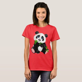 Cartoon Panda Bear T-Shirt
