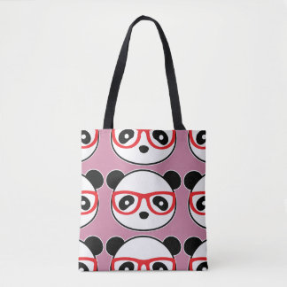 Cartoon Panda Bear Tote