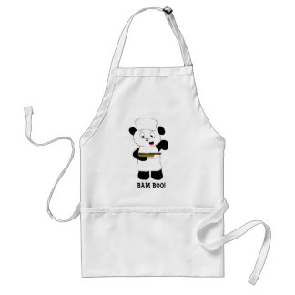 Cartoon Panda Emeril Lagasse Fan Standard Apron