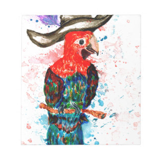 Cartoon Parrot Art01 Notepad