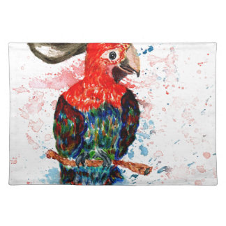 Cartoon Parrot Art01 Placemat