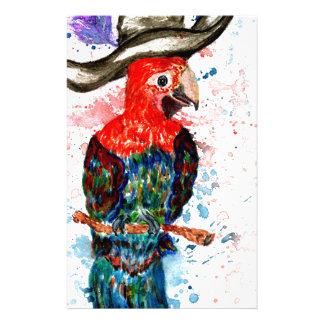 Cartoon Parrot Art01 Stationery