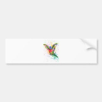 Cartoon Parrot Art03 Bumper Sticker