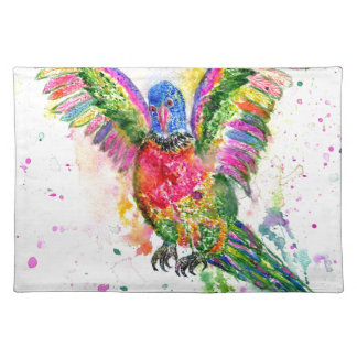 Cartoon Parrot Art03 Placemat