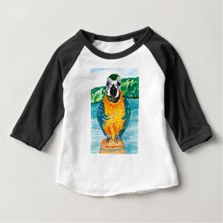 Cartoon Parrot Art2 Baby T-Shirt