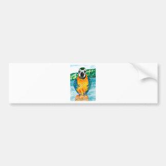 Cartoon Parrot Art2 Bumper Sticker