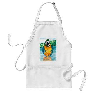 Cartoon Parrot Art2 Standard Apron