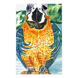 Cartoon Parrot Art2 Stationery