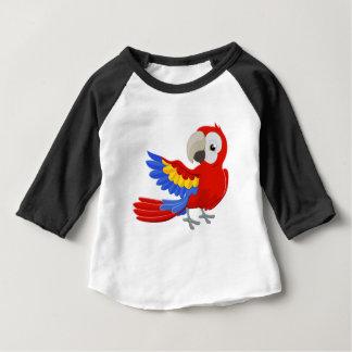 Cartoon Parrot Character Baby T-Shirt