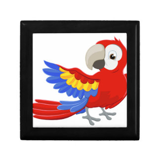 Cartoon Parrot Character Gift Boxes