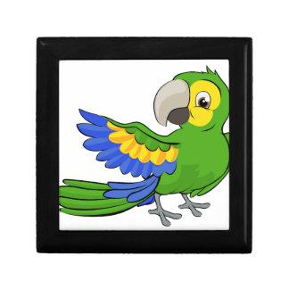 Cartoon Parrot Mascot Gift Boxes