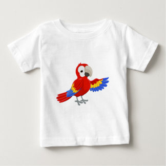 Cartoon Parrot Pointing Baby T-Shirt